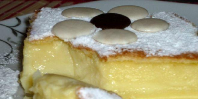 Необычный трехслойный пирог «Магический»: готовится из минимума продуктов! Результат этого рецепта похож на волшебство! Поколдуем?