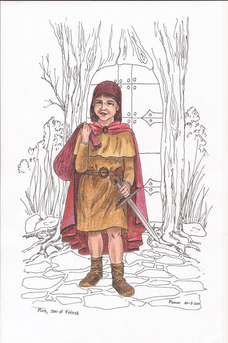 Miro, from the book SIRION, by Ivano Massari. http://www.gypsyshadow.com/IvanoMassari.html#top