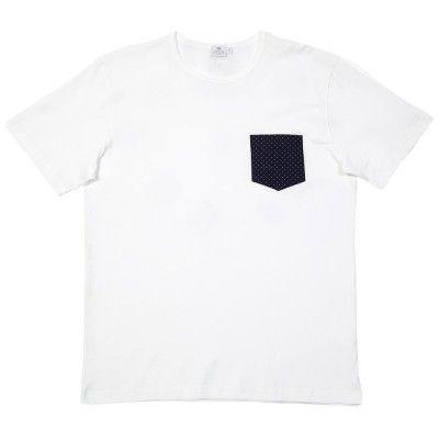 Sunspel Pin Dot Pocket Tee (White) Bought at endclothing