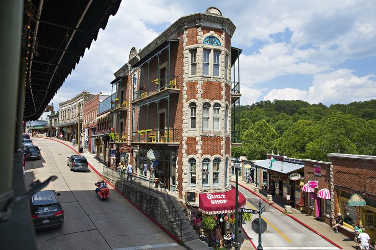 Eureka Springs included in list of the 15 most beautiful main streets across America by ArchitecturalDigest.com. #VisitArkansas