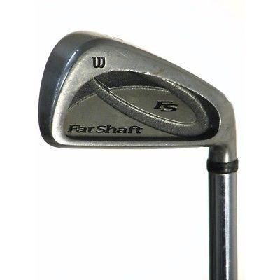 Wilson Golf Clubs Fat Shaft Ii 3-Pw Iron Set Stiff Graphite Value -0.25 inch