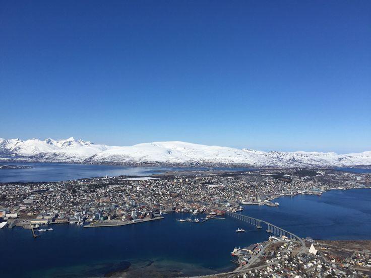Tromsø by, vakker utsikt