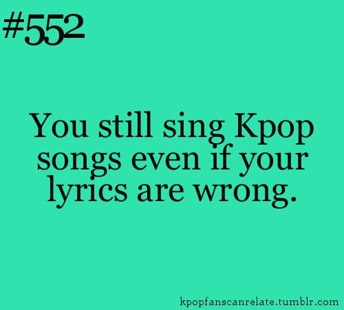 hahahah i think im speaking Korean but in reality probably not XD