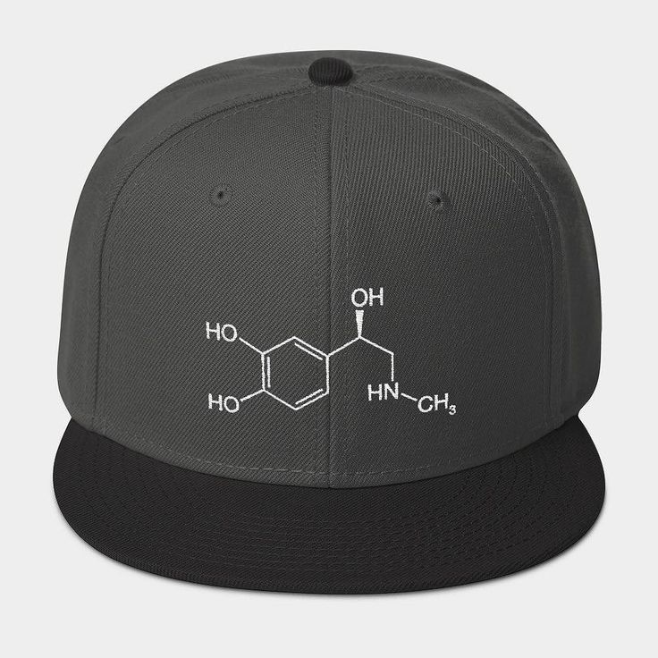 We just love our adrenaline molecule cap. How do you feel about it? Leave a comment!  Have a nice weekend! #tgif  #molecule #chemistry#chemist #science #scientist #molecules #orgchem #chemical #staynerdy #lookattheblue #action #adrenaline #chemistrycap #chemistrygang #chemistryswag #breakingbad
