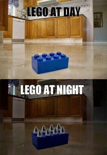 """Tim Hawkins: """"I think that when our kids are alone in their rooms, they're sharpening legos."""" Amen"""