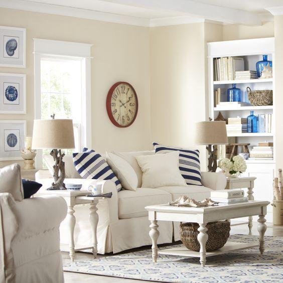 Coastal Style Living Room - Joss & Main - BL