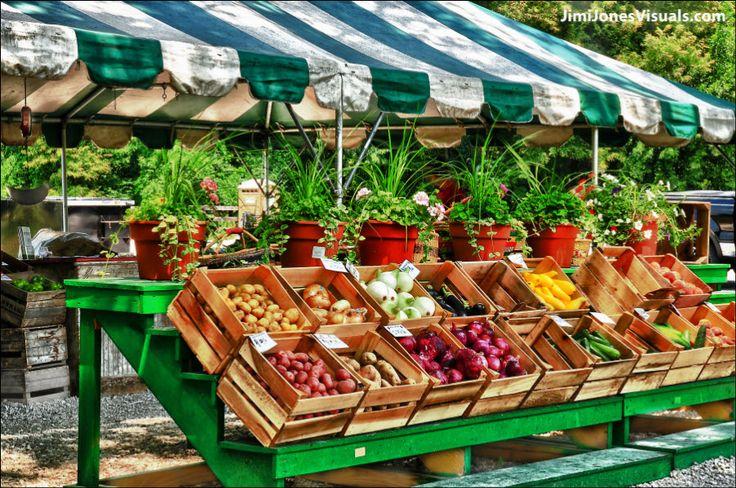 Roadside Vegetable Stand   Roadside Stand - Veggie View