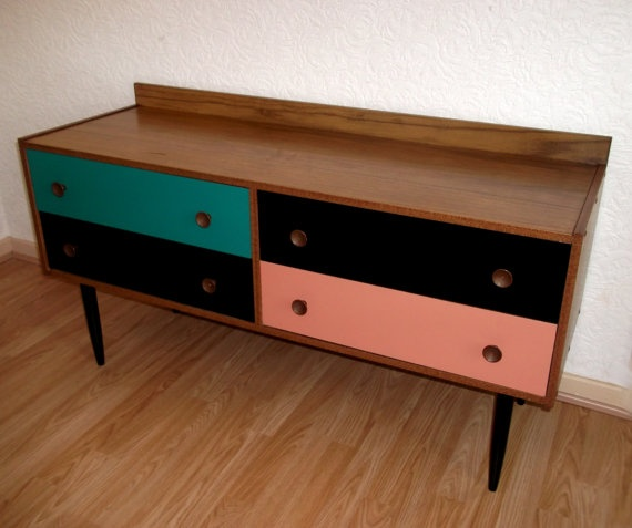 Do This With End Table Vintage Retro 70s McIntosh Teak Sideboard By  Bellshawn On Etsy,