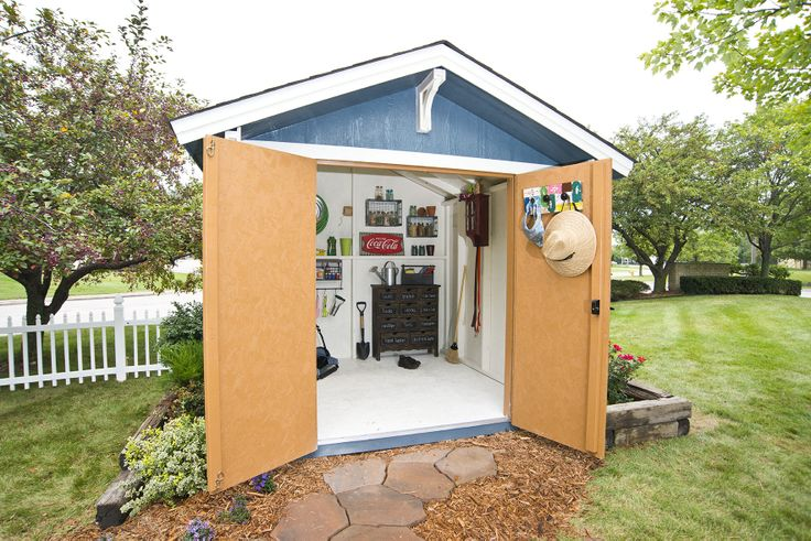 The 19 best images about shed organization ideas tips on for Garden shed organisation