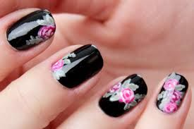 Black and rose... flowers and you