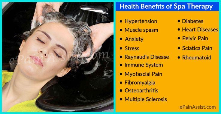 Health Benefits of Spa Therapy #SpaTherapy #Health  #theraphy  #MassageTherapy #Aromatherapy  #Rheumatoid #Osteoarthritis  #Headache  #Diabetes #SciaticaPain #Yoga #Anxiety #Fibromyalgia #MyofascialPain  #ePainAssist  Read More: http://www.epainassist.com/manual-therapy/spa-therapy/health-benefits-of-spa-therapy