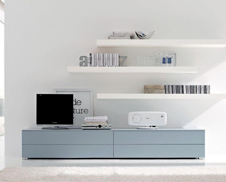 Cool album ensemble banc tv design caissons srie with for Miroir nissedal ikea