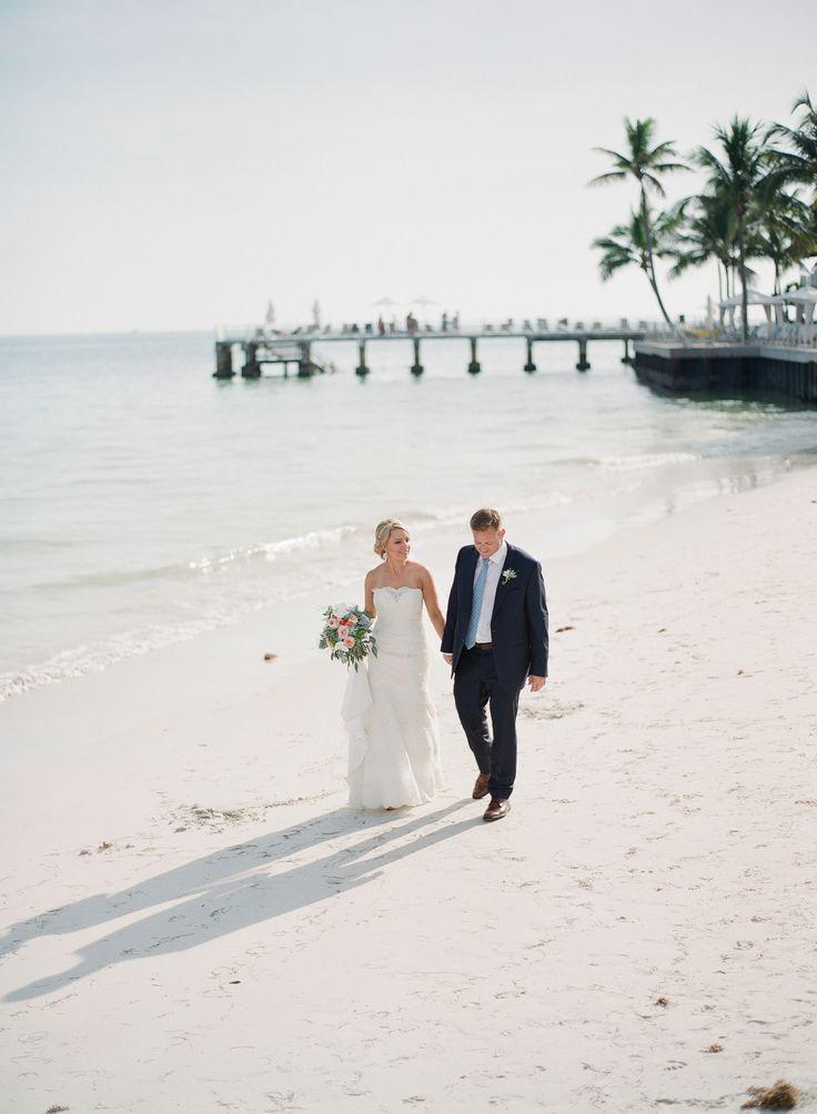 beach wedding south west uk%0A Intimate Key West Union at The Reach   Florida Keys  FL  Beach Wedding