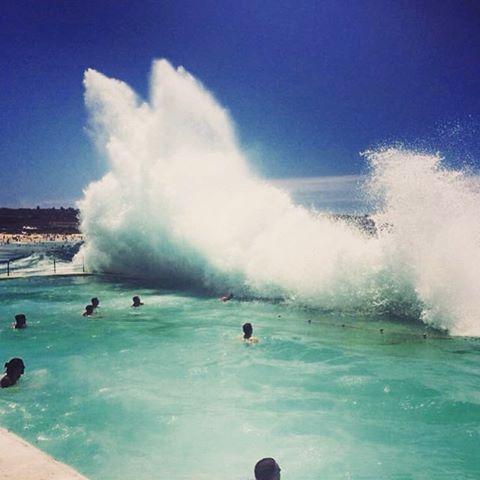 Bondi waves... Photo taken on the UltimateOz tour