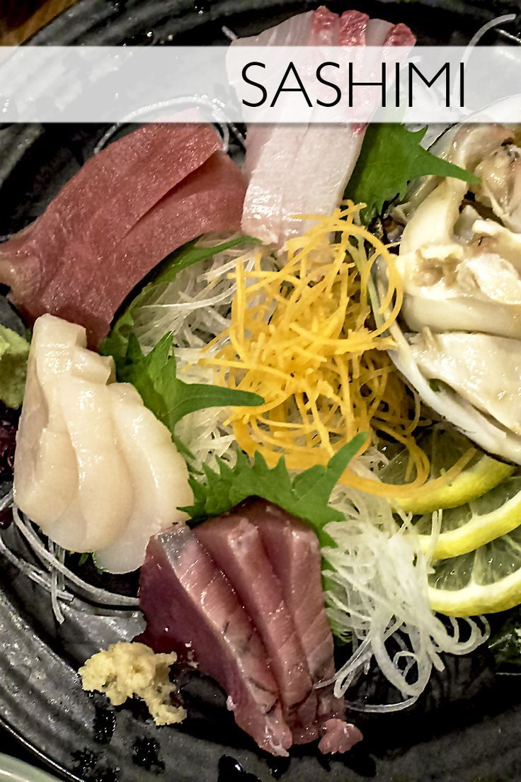 Sashimi!Everything you need to know about the Japanese food, sashimi.
