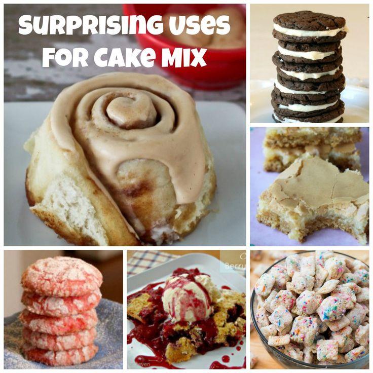 Surprising Uses For Cake Mix 1024x1024 10 Surprising Recipes Using Cake Mix