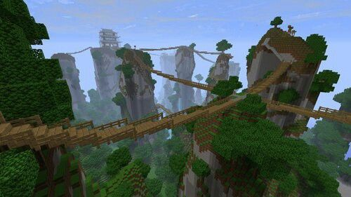 jungle bridges minecraft pinterest minecraft ideas and craft