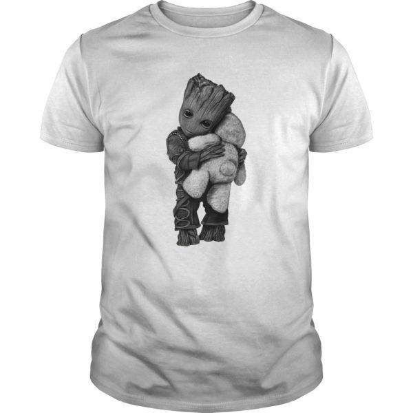 Guardians Of The Galaxy Baby Groot Hug Teddy Bear Shirt