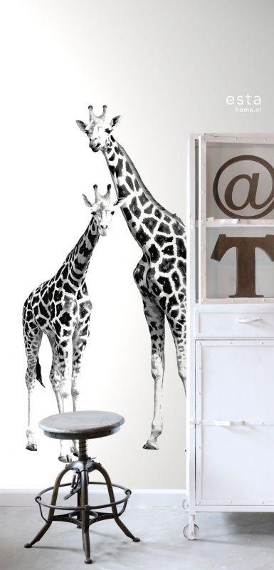 Esta Home Everybody Bonjour PhotowallXL giraffen 158701