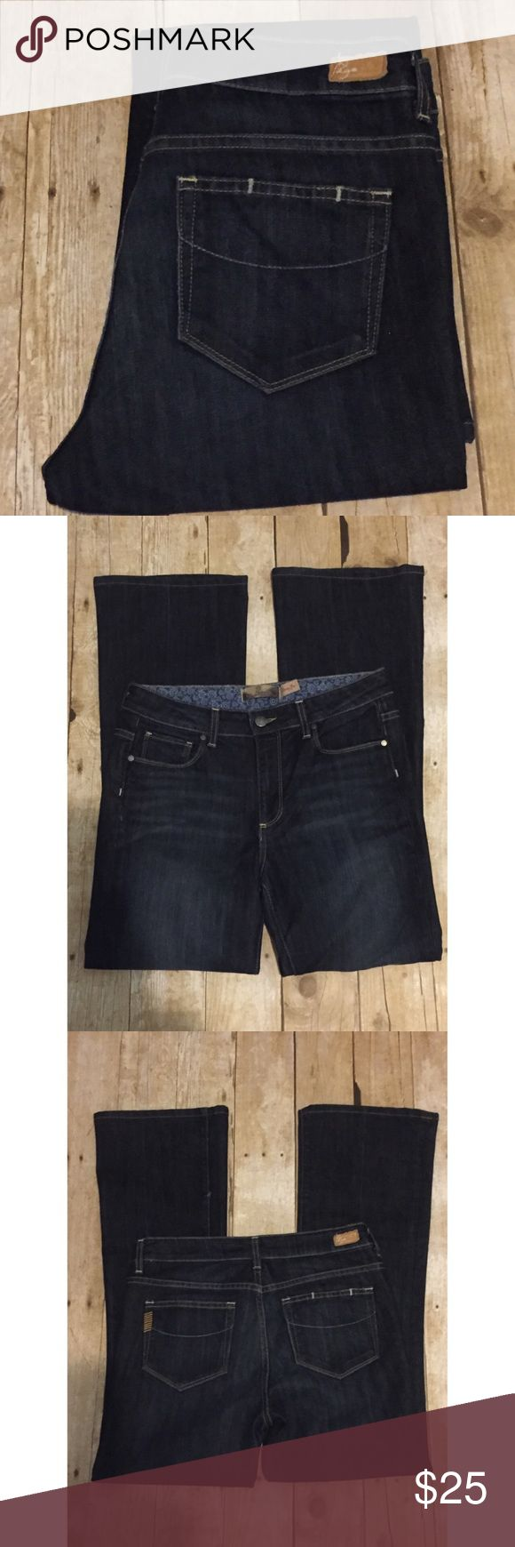 Paige Rising Glen High Rise Boot Cut Jeans❤️ Paige Rising Glen High Rise Boot Cut Jeans. These are in Great condition other then a small defect hole in seam seen on left leg in pic #3 not noticeable. Still a beautiful pair of PAIGE Jeans 😍 sz  29x29.5 Paige Jeans Jeans Boot Cut