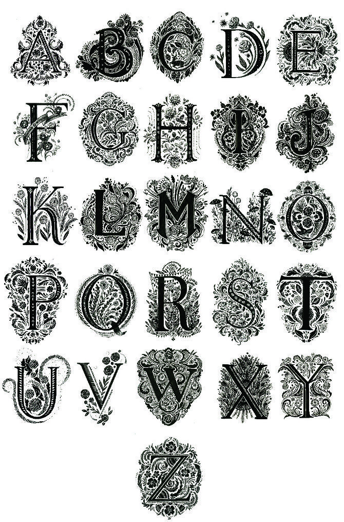 Best images about alphabets typography letters on