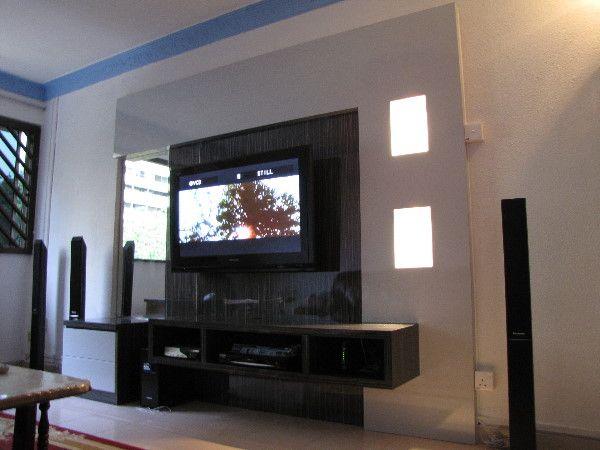 Wall Tv Cabinet Shelving Ideas Home Decor Pinterest