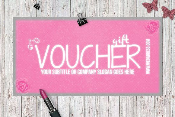 FANCY PINK gift voucher - Cards