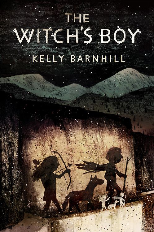 jonklassen: Got to do the jacket for Kelly Barnhill's great book, The Witch's Boy, being published by Algonquin later this year.
