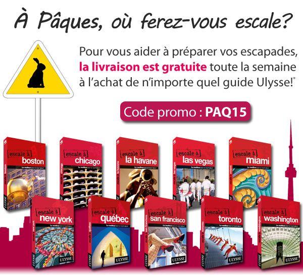 Jusqu'au 8 mars 2015. Livraison gratuite à l'achat d'un guide Ulysse.