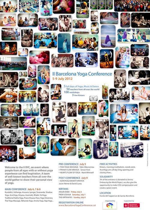 Barcelona Yoga Conference, 5-9 July 2012
