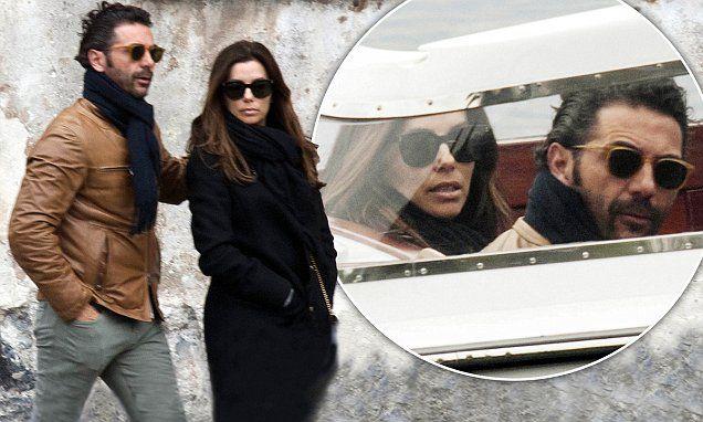 Eva Longoria and Jose Antonio Bastonwrap-up warm on Lake Como visit
