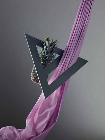 Pineapple & triangle