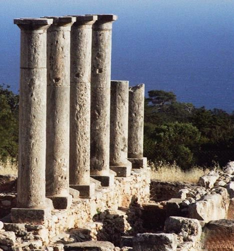 The temple of Apollo at Kourion - Limassol, Cyprus