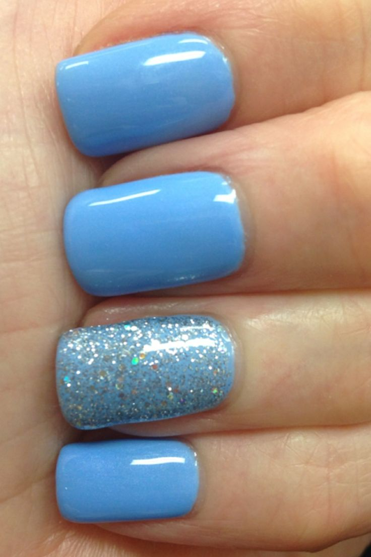 17 Best Ideas About Blue Nails On Pinterest