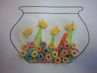 Haha, what a cute fish craft!