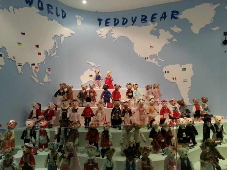 Day 2-Teddy Bear Museum Inside We can fin alot of teddy bear collection inside the teddy bear museum #AviaPromo #Travelmania #Travelling