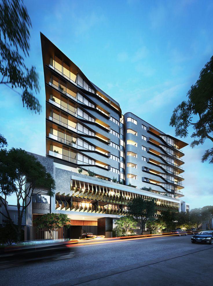 Nero Newstead // Apartment Living // Multi Residential // Architecture // Interior Design // Brisbane // Newstead // Designed by Ellivo Architects // Interior Design by Daniella Rowles Design // www.ellivo.com