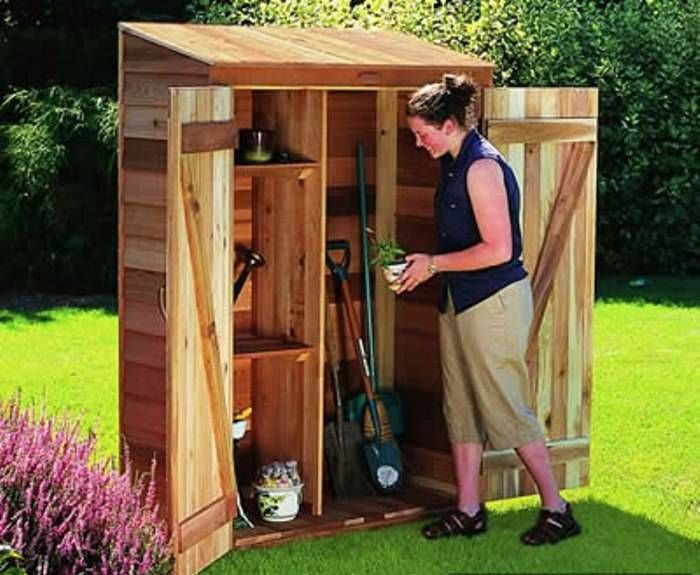 Small Storage Shed For Garden Building A Small Garden Shed