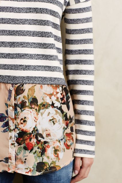 Layered Stripes Sweater - anthropologie.com #anthrofave