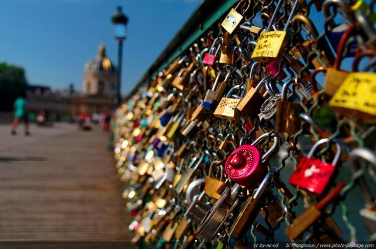 Love Locks, Pont des Arts, Paris - DONE