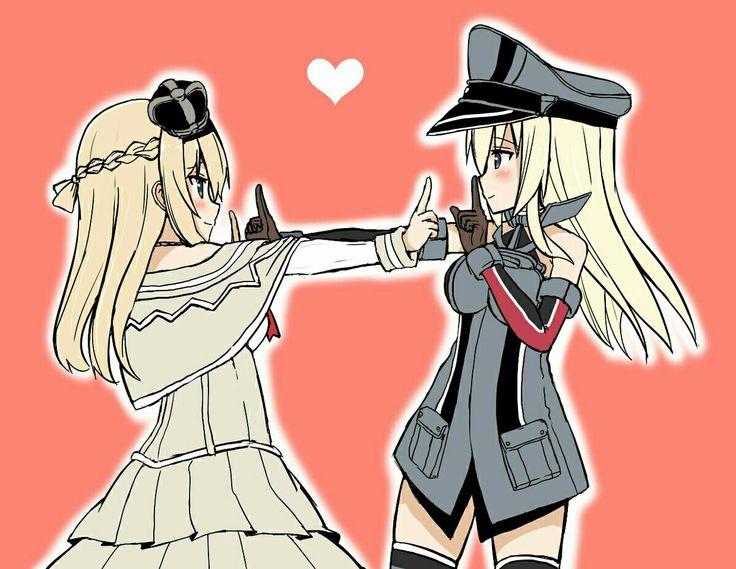 KAncolle: Warspite & Bismarck