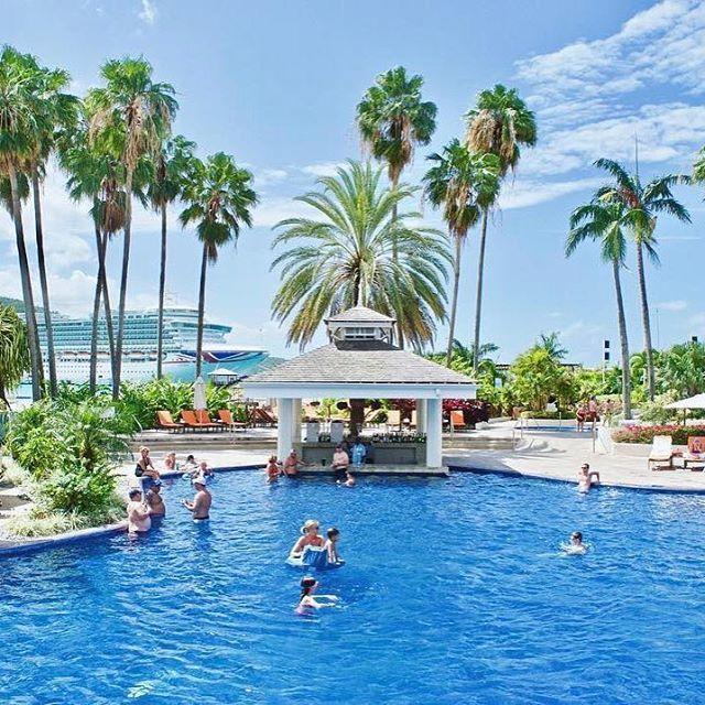 Chilled vibes at the spectacular Moon Palace Jamaica Grande @elladvornik  #FeelTheVibeJamaica #VisitJamaica #HomeofAllRight #Jamaica #Pool