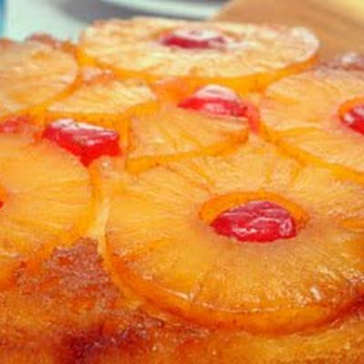 Duncan Hines Pineapple Upside Down Cake @keyingredient #cake #pie