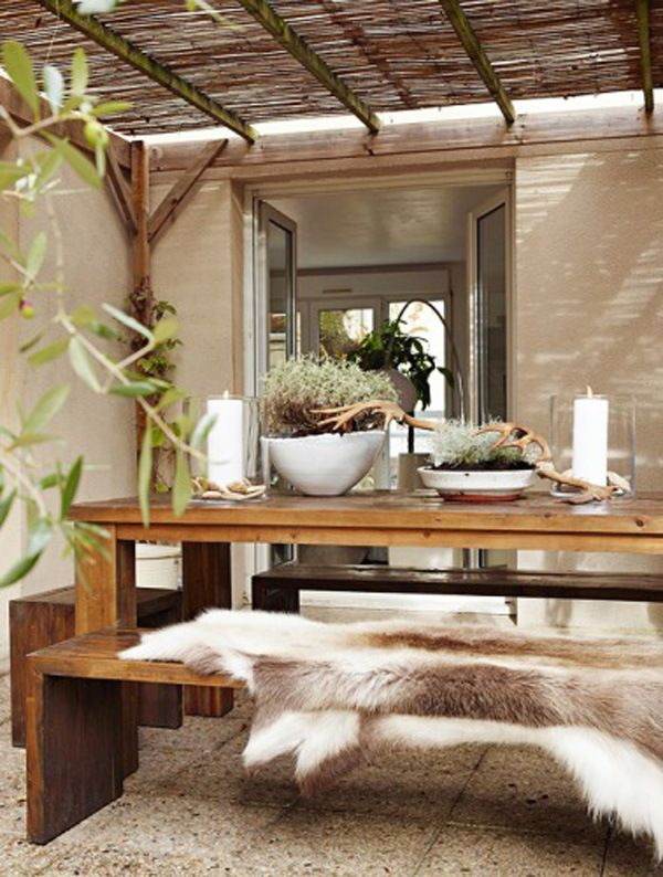 Felle Gemutliche Terrasse Ideen Garten Pinterest Garten Haus