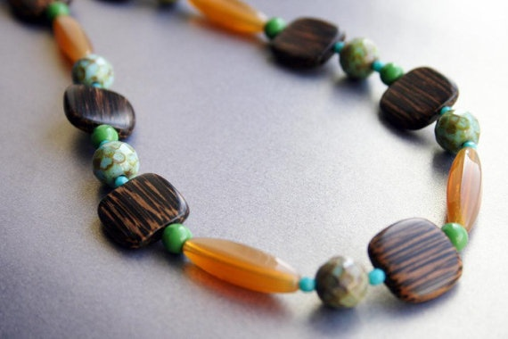 dig the wood beads