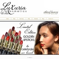 Get your hands on your Limited Edition Creme Lipstick. Cruelty-free, natural and vegan - @luxuriacosmetics