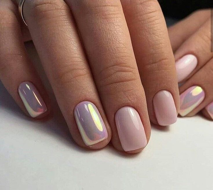 super cute! Love those chrome accent nails!