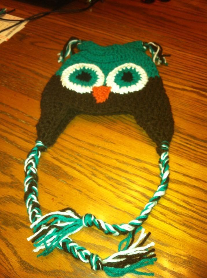 Levi's owl hat :)