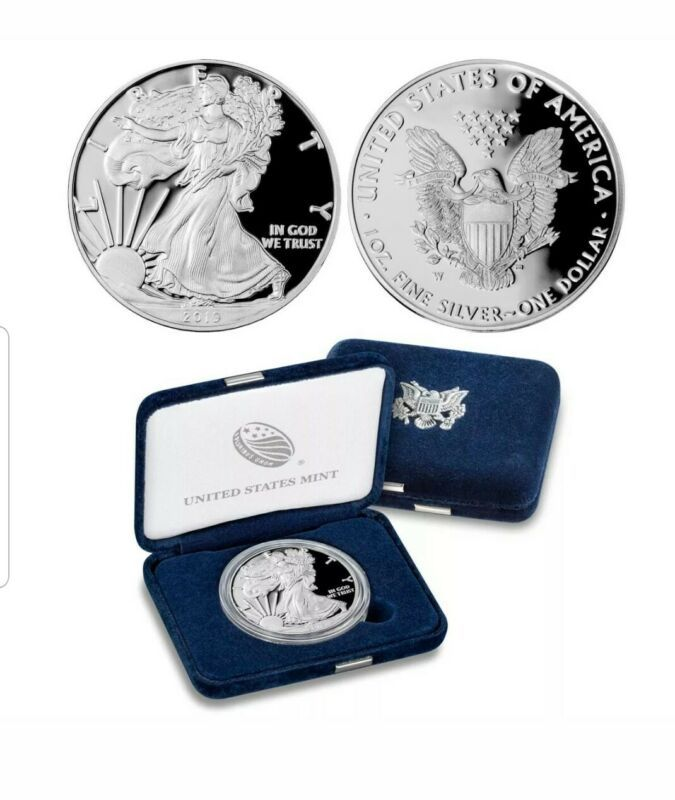 2019 W American Proof Silver Eagle 1 Oz Coin In Ogp Bu Unc Bullion Coin Collectible In 2020 American Silver Eagle Silver Eagles Bullion