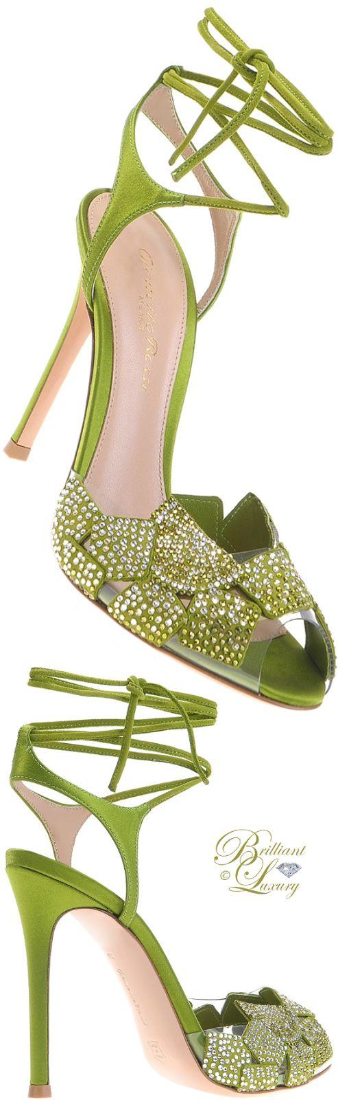Brilliant Luxury by Emmy DE ♦ Gianvito Rossi Mojito Sandals